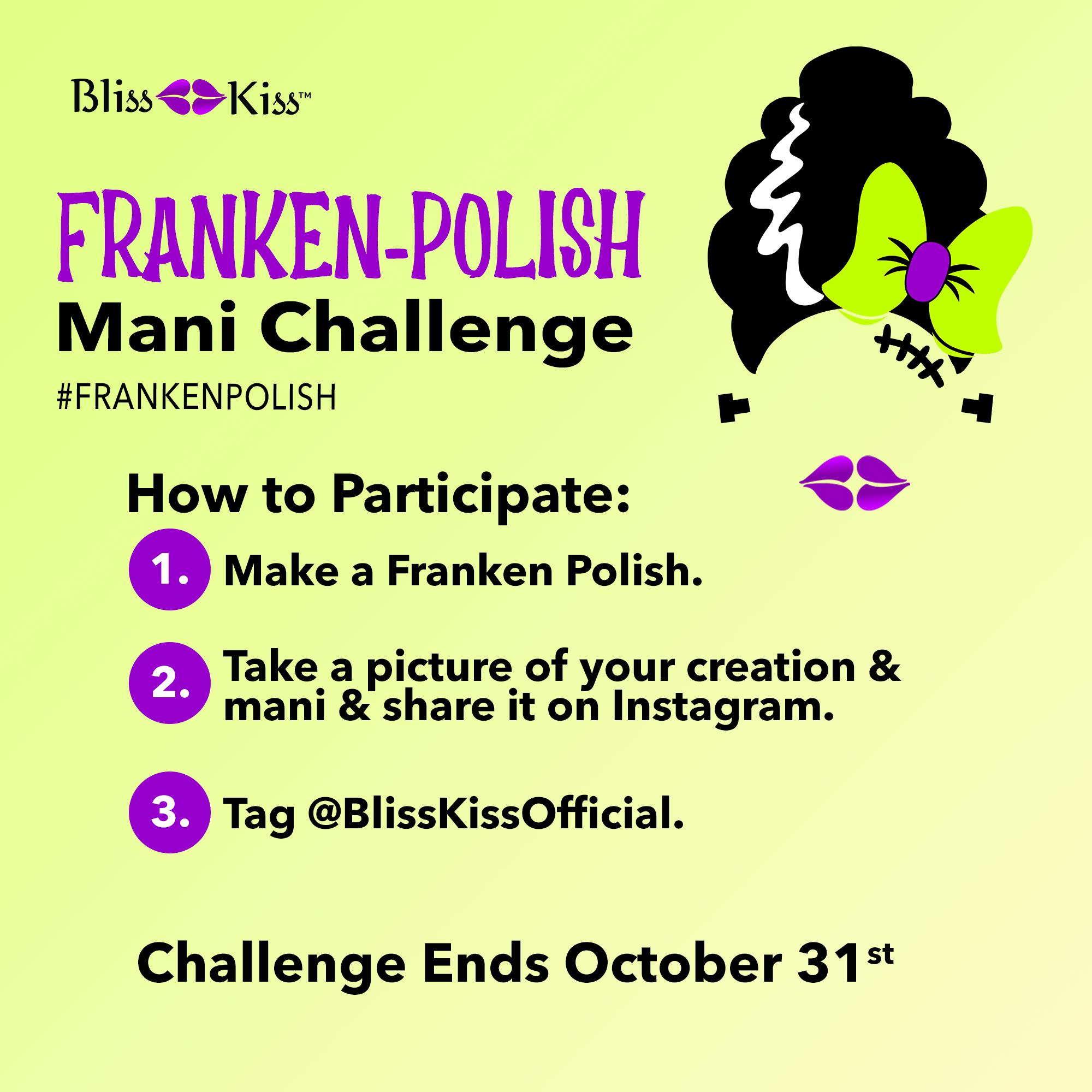 Take the Franken Polish Mani Challenge