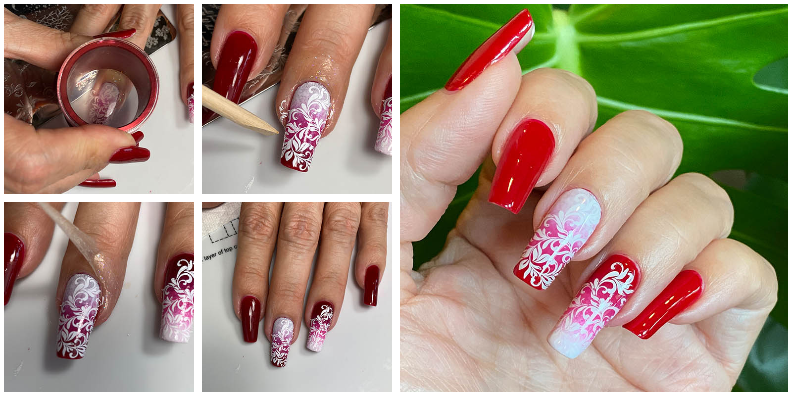 how to use Simply Peel for Stamping