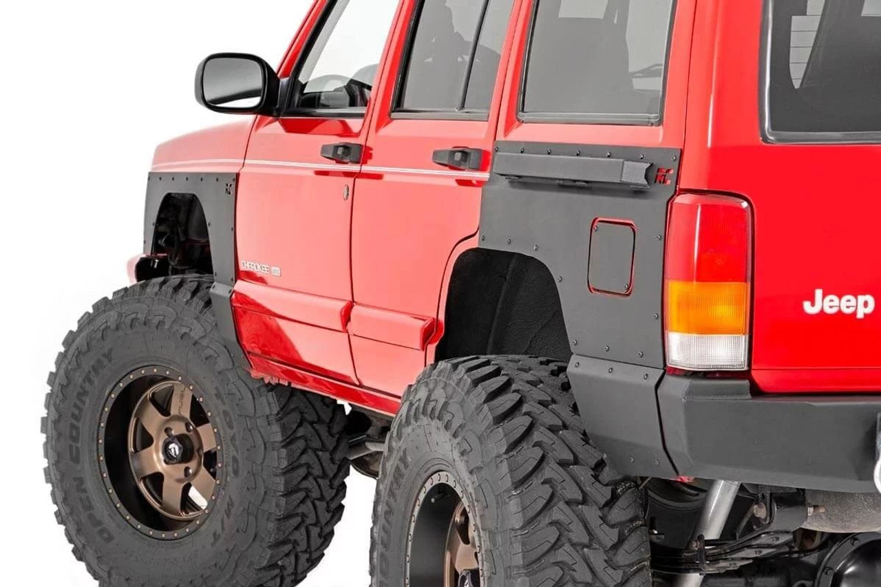Jeep Front Or Rear Quarter Panel Armor 97 01 Cherokee Xj