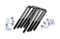"9/16"" Square U Bolt Set (2.5 X 12.5)"