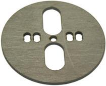 Centered/Offset Dual Port Bag Plate