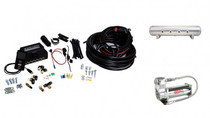 "1/4"" Air Lift 3P Kit with 4 Gallon 7 Port Tank"