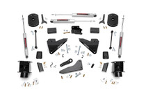 5IN Dodge Suspension Lift Kit w/ Coil Spacers/Radius Drops (14-19 Ram 2500 4WD)