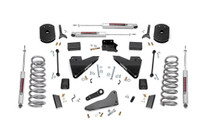 5in Dodge Suspension Lift Kit w/Coil Springs & Radius Drops (14-19 Ram 2500 4WD)