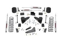 5in Dodge Suspension Lift Kit w/Coil Springs & Radius Drops (14-19 Ram 2500 4WD)