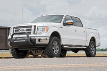 3in Ford Bolt-On Lift Kit (09-13 F-150 4WD) mounted vehicle front view