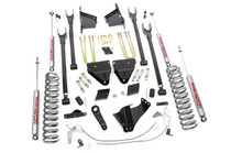 6in Ford 4-Link Suspension Lift Kit (11-14 F-250 4WD   Diesel) with Standard Kit