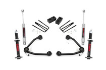 3.5IN GM Suspension Lift Kit w/ Upper Control Arms -  07-16 Sierra/Silverado with lifted strut upgrade