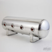 2.5 Gallon Polished Aluminum Air Tanks