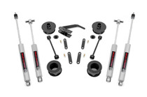 2.5in Jeep Series II Suspension Lift Kit (07-18 JK Wrangler / 07-18 JK Wrangler Unlimited ) with N3 Shock upgrade