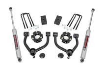 3in Nissan Bolt-On Lift Kit (16-19 Titan XD 2WD/4WD) with N3 Shock Upgrade