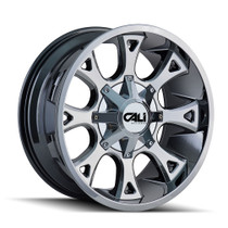 Cali Off-Road Anarchy PVD2 Chrome 20X10 8-180 -19mm 124.1mm
