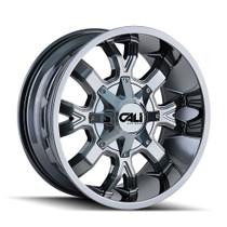 Cali Off-Road Dirty PVD2 Chrome 22X10 8-180 -19mm 124.1mm
