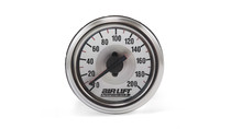 Dual needle 200 psi pressure gauge.