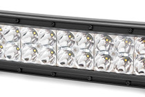 50-IN Cree LED Light Bar (Dual Row / Chrome Series w/ Cool White DRL) up close