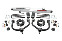 3 inch Nissan Bolt-On Lift  Kit (04-20 Titan 2WD/4WD) with Premium N3 Shocks
