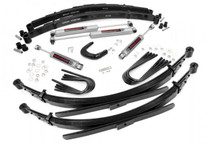 6IN GM SUSPENSION LIFT KIT (73-76 Chevy/GMC) 3/4 Ton Pickup/Suburban) w/ 52in rear leaf springs +$200.00