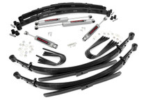 2IN GM Suspension Lift Kit w/ 52IN Rear Springs (1973-76 Chevy/GMC)(3/4 Ton Pickup & 3/4 Ton Suburban)