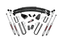 4in Ford Suspension Lift Kit (1987-1997 Ford F250 4WD)