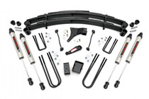 6in Ford Suspension Lift Kit (1999 Ford F250/F350 Super Duty 4WD) with V2 Monotube Shocks