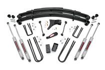 4in Ford Suspension Lift Kit (1999 Ford F250/F350 Super Duty) with N3 Shocks