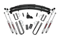 4in Ford Suspension Lift Kit (1999-2004 Ford)(F250/F350 Super Duty) with N3 Shocks