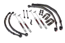 4in Jeep Suspension Lift Kit (1982-83 CJ5)(1982-86 CJ7)(1982-85 CJ8 Scrambler)