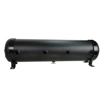 5 Gallon Aluminum MPM Tank 9 Port- Black