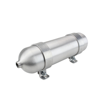 1/4 Gallon 12 Inch Seamless Aluminum Air Tank