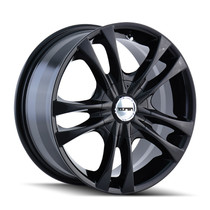 Touren TR22 Black 16X7 5-100/5-114.3 40mm 72.62mm