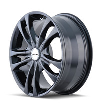 Touren TR22 Black 17X7 5-100/5-114.3 40mm 72.62mm