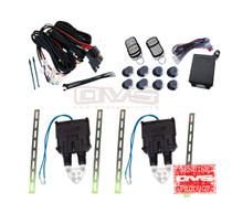 AVS Shaved Door Kit Universal w/Wiring Harness & 4 Chanel Remote