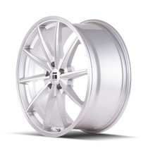 Touren TF01 Brushed Silver 22x10.5 5-120 45mm 72.56mm