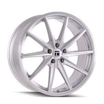 Touren TF01 Brushed Silver 22x10.5 5-115 20mm 72.6mm