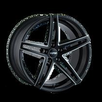 Touren TR73 Gloss Black/Milled Spokes 20X10 5-120 40mm 74.10mm