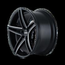 Touren TR73 Gloss Black/Milled Spokes 20X10 5-114.3 40mm 72.62mm