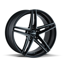 Touren TR73 Gloss Black/Milled Spokes 20X8.5 5-112 30mm 66.56mm