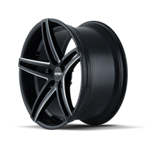 Touren TR73 Gloss Black/Milled Spokes 18X8 5-114.3 35mm 72.62mm