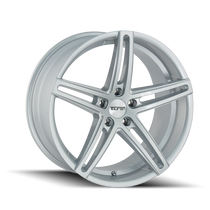 Touren TR73 Gloss Silver/Milled Spokes 18X8 5-114.3 35mm 72.62mm