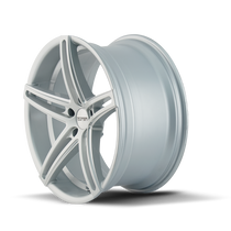 Touren TR73 Gloss Silver/Milled Spokes 18X8 5-120 35mm 74.10mm