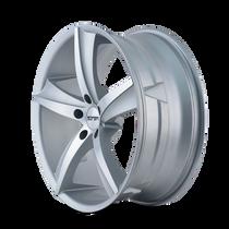 Touren TR72 Gloss Silver/Machined Face 20X8.5 5-120 30mm 74.1mm
