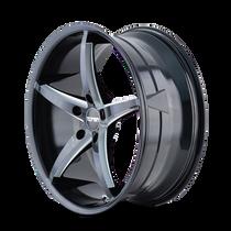 Touren TR70 Black/Milled Spokes 20X8.5 5-115 20mm 72.62mm