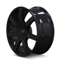 Touren TR65 Black 20x8.5 6-120/6-132 30mm 74.5mm