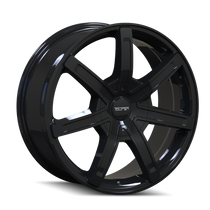 Touren TR65 Black 20x8.5 6-135/6-139.7 30mm 106mm