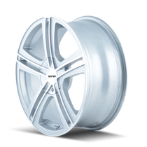 Touren TR62 HyperSilver/Machined Face/Machined Lip 17X7 5-100/5-114.3 40mm 72.62mm