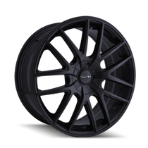 Touren TR60 Full Matte Black 17x7.5 5-100/5-114.3 42mm 72.62mm