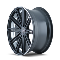 Touren TR40 Matte Black/Machined Face/Machined Lip 20X8.5 5-114.3 35mm 72.62mm