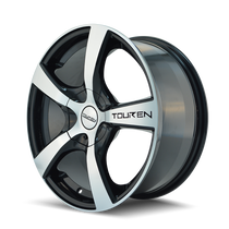Touren TR9 Black/Machined Face 17X7 4-100/4-114.3 42mm 67.1mm