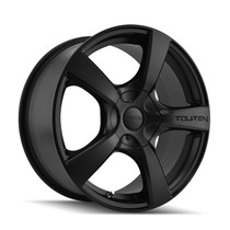 Touren 3190 Matte Black 17X7 5-108/5-114.3 42mm 72.62mm