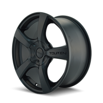 Touren 3190 Matte Black 19X8.5 5-108/5-114.3 40mm 74.1mm